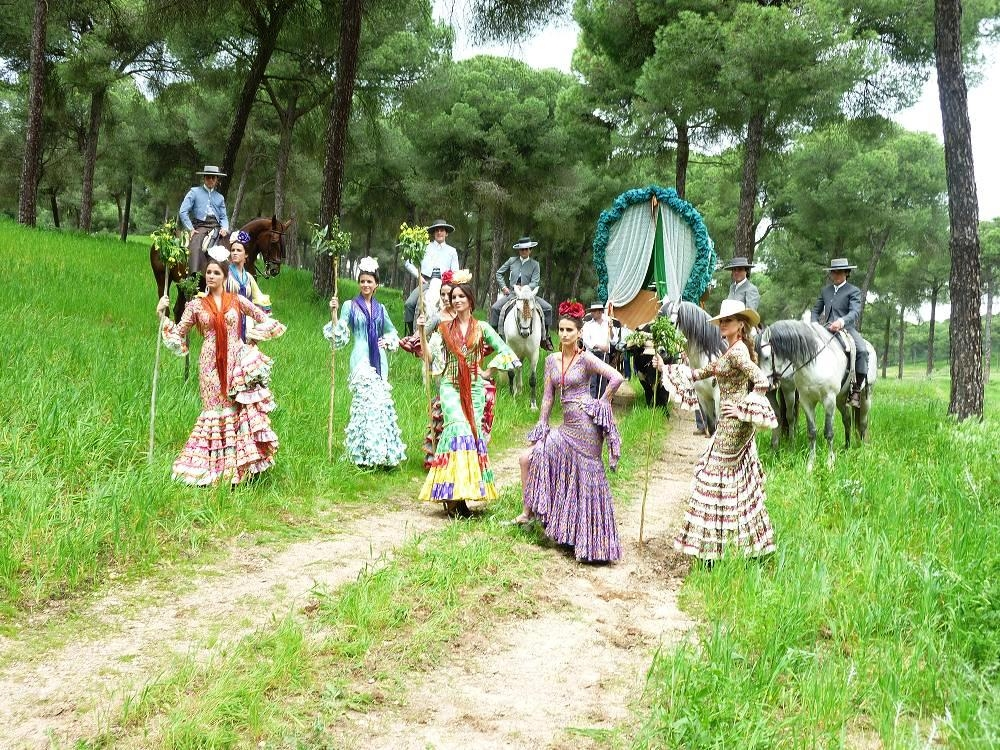 FLAMENCO DRESSES AT ROCIO